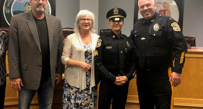 Groblewski Promoted to Sergeant