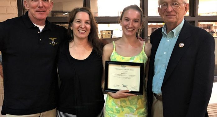 Changing the World, Raising Awareness About Organ and Tissue Donation, Morristown Grad Founds Donate Life Club, Wins Scholarship