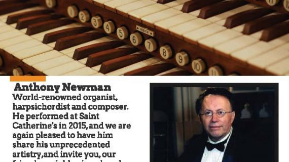All Bach Organ Recital by Virtuoso Anthony Newman