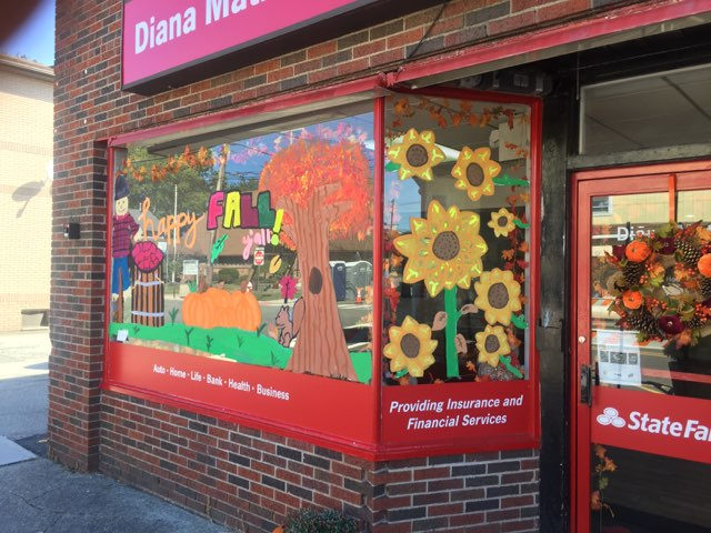 Patania/Ryerson Middle School Students Create Window Works of Art