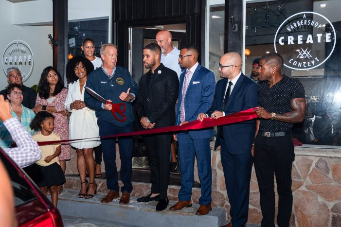 Create Barber Shop Officially Opens Doors