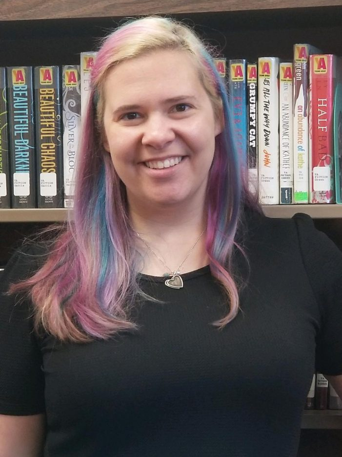 Lincoln Park Librarian Dyes Her Hair Rainbow as Young Readers Complete Colossal Reading Challenge