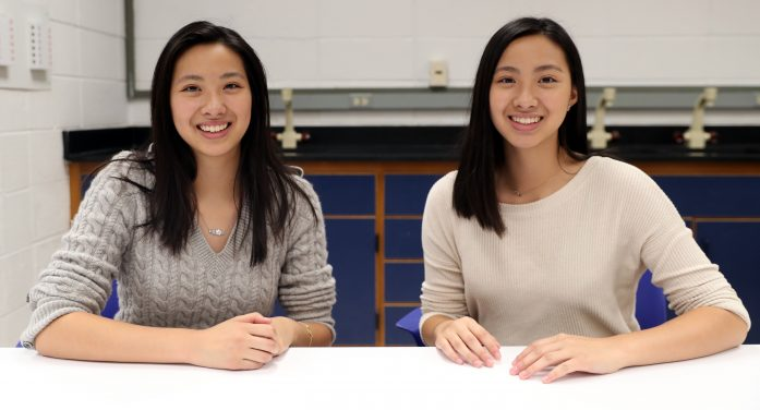 Twin Sisters at Randolph High School Publish Scientific Paper