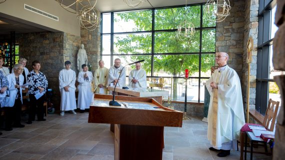 Community Gathers for Dedication of New Caldwell University Chapel, Located 'at the Heart' of Campus