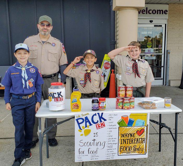 Cub Scouts Stock Wayne Interfaith Network Food Pantry