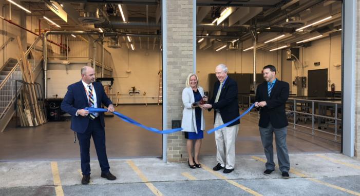 Roxbury High School Unveils New Robotics Lab