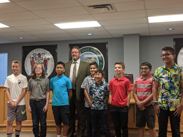 Roboteers Meet Mount Olive Mayor
