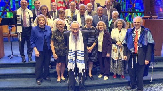Temple Beth Tikvah Honors Past Presidents