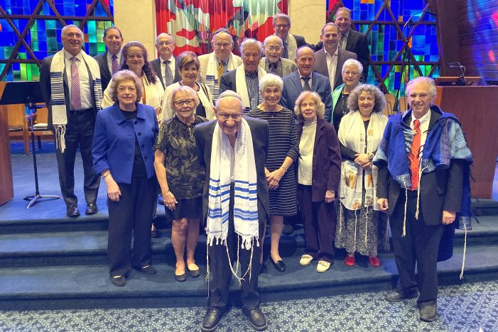 Temple Beth Tikvah Honors Past Presidents
