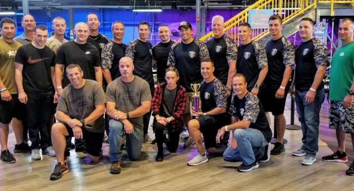 East Hanover Police Department wins First-Responders Challenge… then shares prize with team representing Florham PD