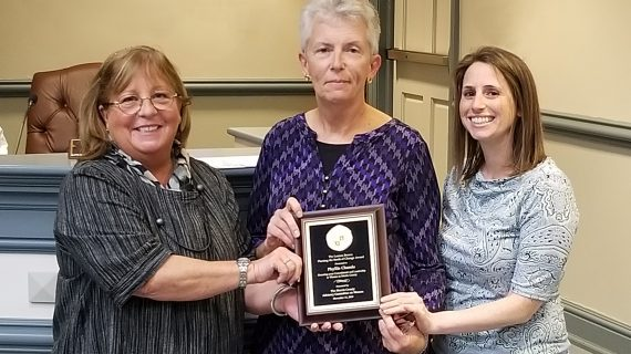 "MORRIS COUNTY 2019 ""SEEDS OF CHANGE'' AWARD : PHYLLIS CHANDA OF MOUNT OLIVE IS RECIPIENT"