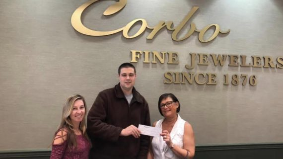 Corbo Jewelers Donates to Mount Olive Kiwanis