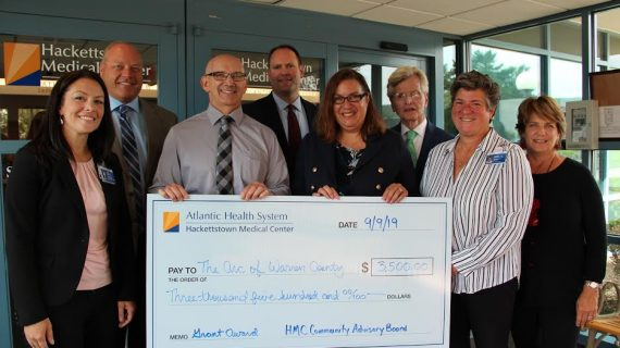 The Arc of Warren County Receives a Grant from Atlantic Health Systems and Hackettstown Medical Center