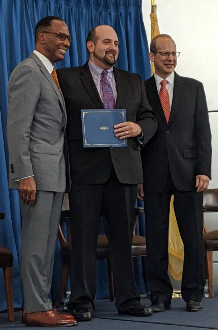 Adam P. Dubeck, Esq. receives Pro Bono Service Recognition from the NJ Judiciary