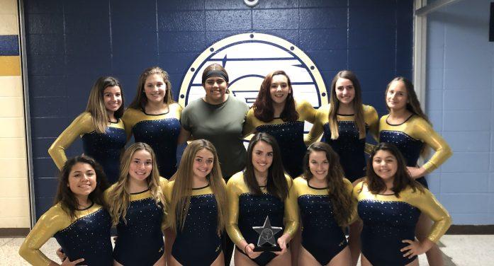 Roxbury High Gymnastics Flips Over Undefeated Record in 2019 Regular Season