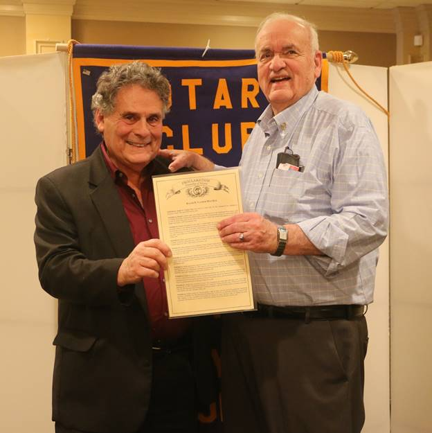 Vander May Serves with Rotary for 50 Years