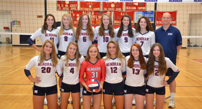West Morris Mendham Girls Volleyball Scores First State Title