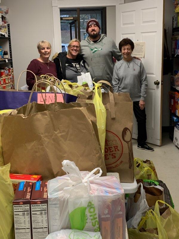 Lane Contractors Support Wayne Interfaith Network Food Pantry