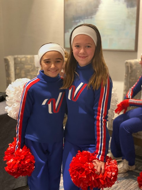 Two Hackettstown Area Girls Spread Cheer Together at Philadelphia Thanksgiving Day Parade