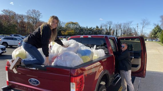 Making the Environment a Clean Safe Place for Generations to Come: Mt Olive School Collects Recycling