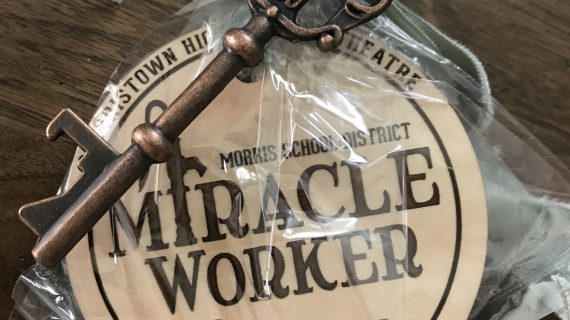Morris Miracle Workers Honored at MHS Play