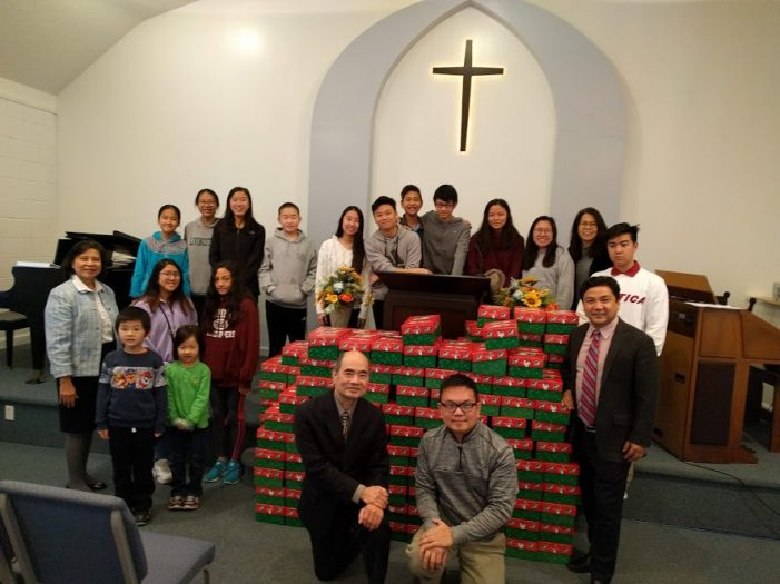 Christian Evangelical Participates in Operation Christmas Child
