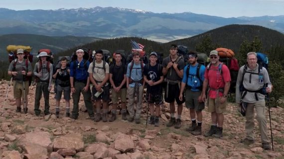 Boy Scouts of Troop 236 of Long Valley experience Philmont Scout Ranch in New Mexico