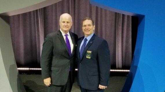 Sheriff Gannon Receives Major International Police Award for Hope One