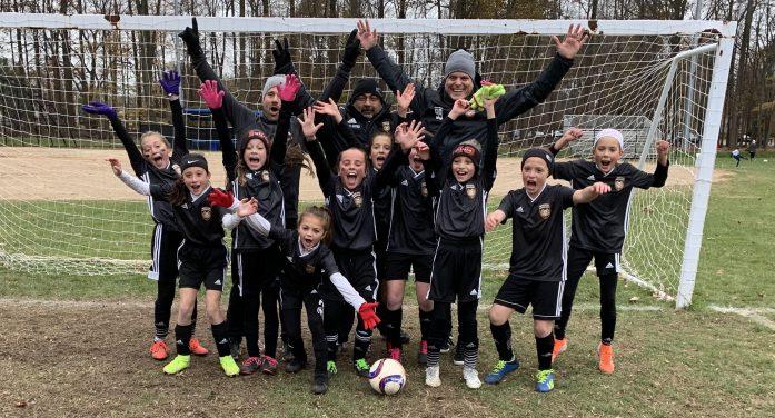 Mount Olive U10 Girls Soccer Goes Undefeated