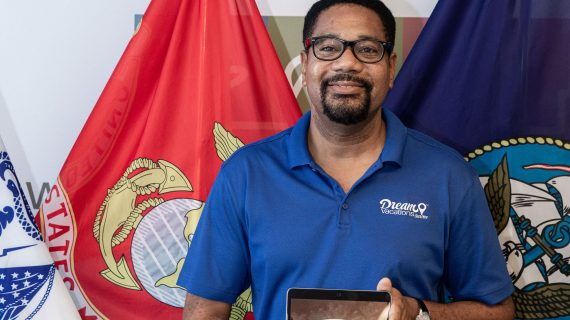 West Orange Resident and Marine Corps Veteran Celebrates Winning Home-Based Travel Agency Franchise