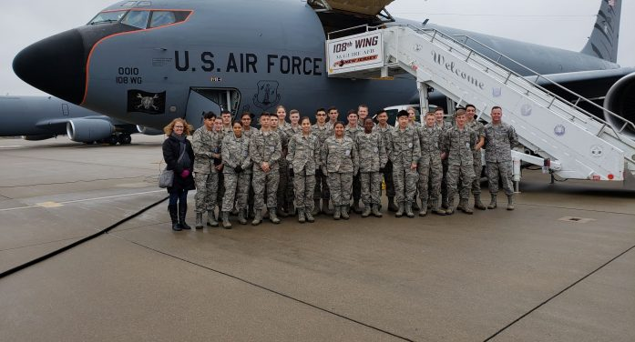 Mount Olive High School AFJROTC Program Is About Being Future-Ready