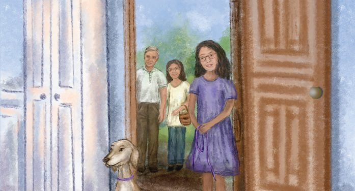 Rescued Dog from Dubai Stars in New Children's Book