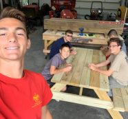 Eagle Scout Beautifies Maier's Pond