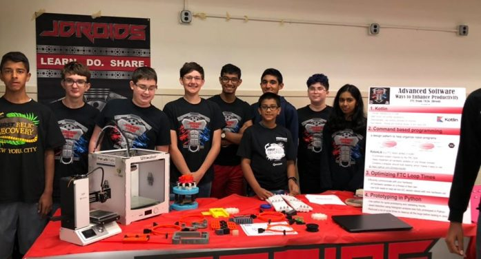 Wayne Robotics Team Builds Robots for Competitions All While Giving Back