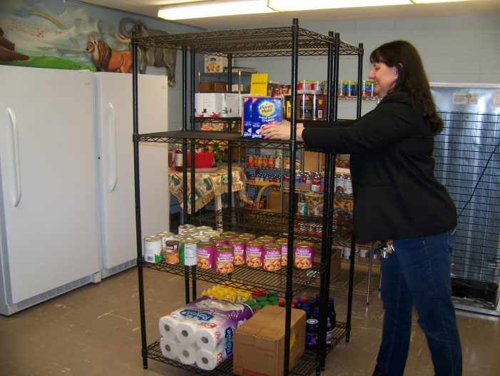Church Pantry Gets Revitalized:  Pantry in the Glen
