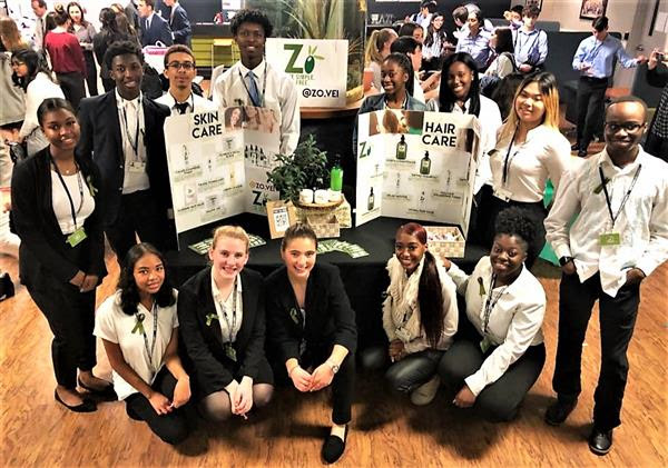 West Orange High School Virtual Enterprise Team Takes First and Third Place at VEI Competition