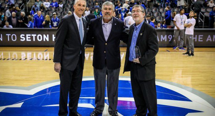 Seton Hall University and WSOU Honor Bob Ley, Legendary Sportscaster and 1976 Alum