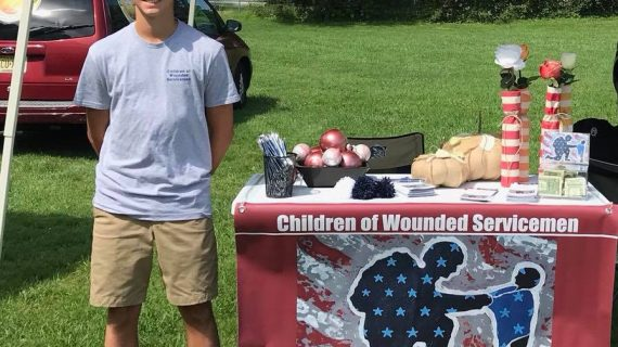 Chester Teen's Fundraising for Children of Wounded Servicemen Brings Service and Sacrifice to Light