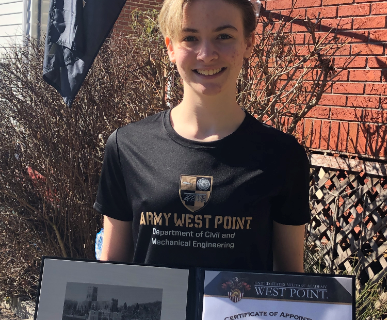 James Caldwell High School Senior to Attend West Point