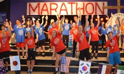 24 Hour Dance Marathon Praises God & Helps Others