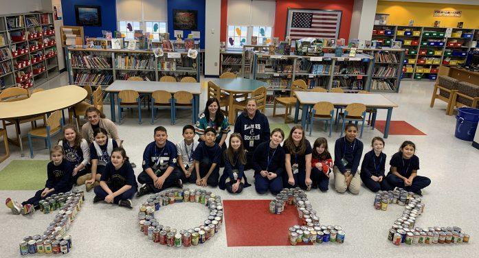 Souper Bowl of Caring at Woodland Park Schools