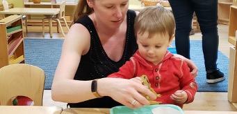 PARENT/TODDLER WORKSHOP AT THE ALBROOK SCHOOL