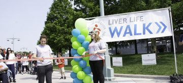 Transplant Recipient Continues to Fight Liver Disease for Others