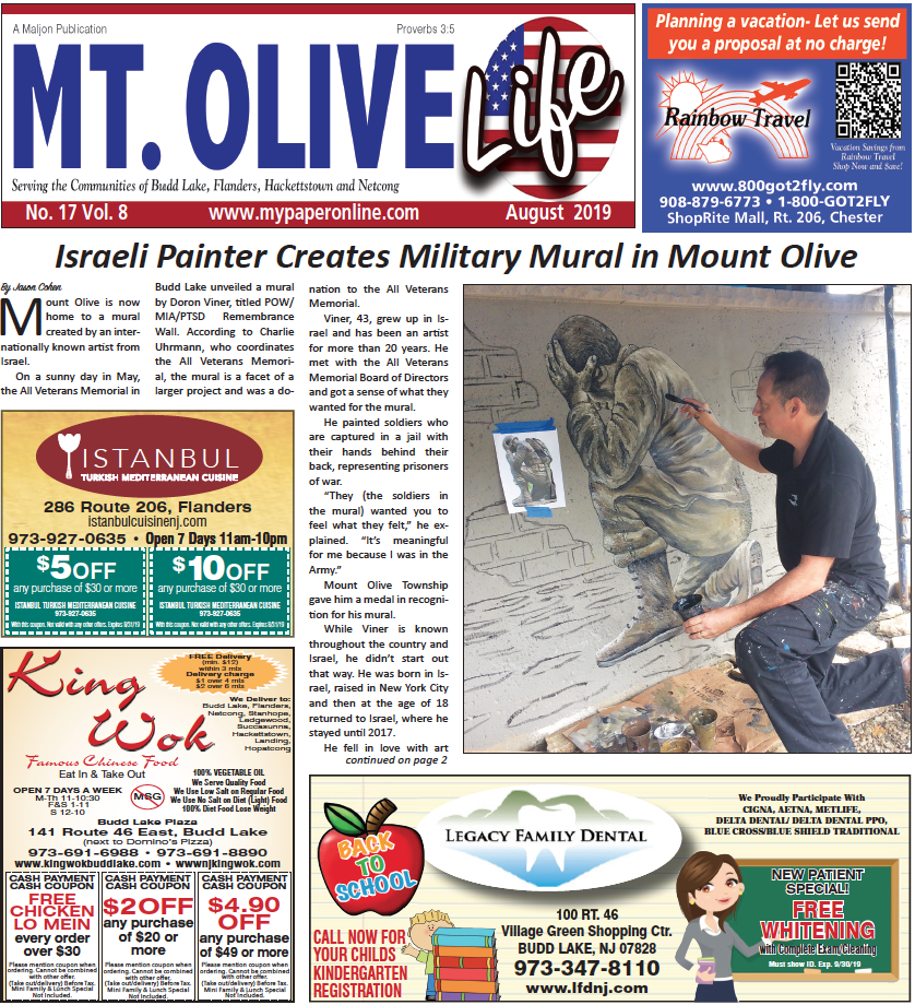 Mt Olive Cover