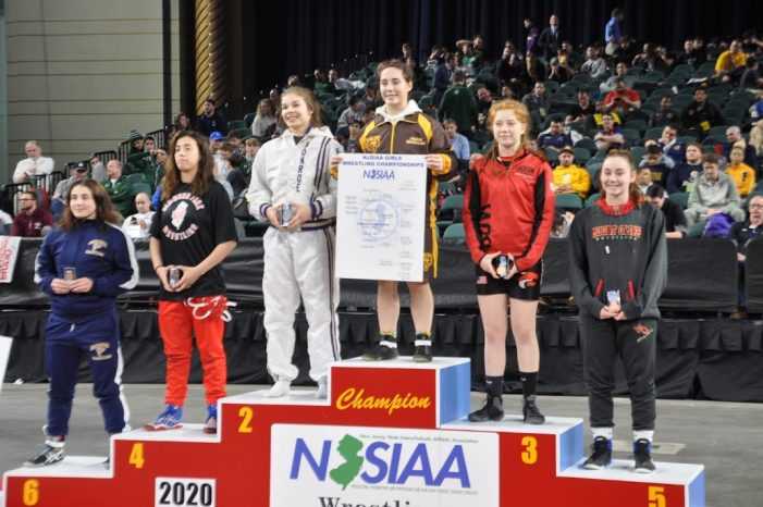 Mount Olive Female Wrestler Places Top 5 in New Jersey