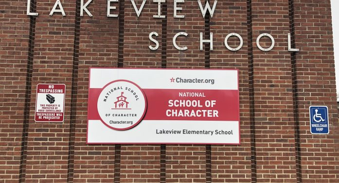 Character Celebrated Nationally at Denville Township Elementary Schools