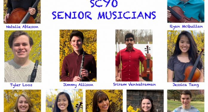 Sussex County Youth Orchestra Celebrates 2020 Seniors