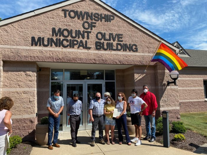 Mount Olive Proclaims June as Pride Month in Township