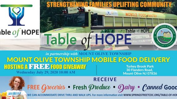 Table of Hope Provides Blessings for Many During COVID-19
