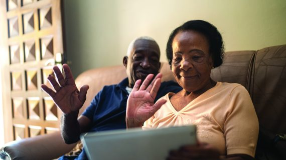 Engage Virtually Tips for keeping older adults connected